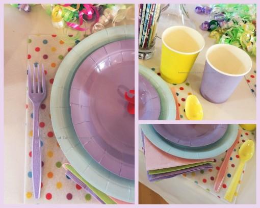 "Alycia Nichols, Tablescapes at Table Twenty-One, www.tabletwentyone.wordpress.com, ""Confectionery Christmas"" – Flatware, napkin, cup collage"