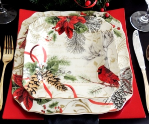 """INSPIRATION: 222 Fifth """"Holiday Wishes"""" dishes from T.J. Maxx"""