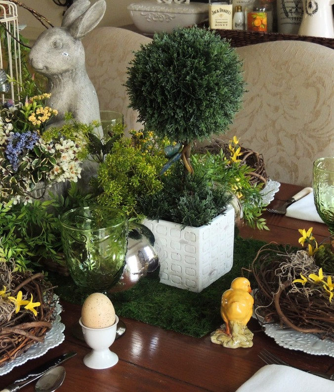 "www.tabletwentyone.wordpress.com, ""Spring Into Easter"" tablescape"