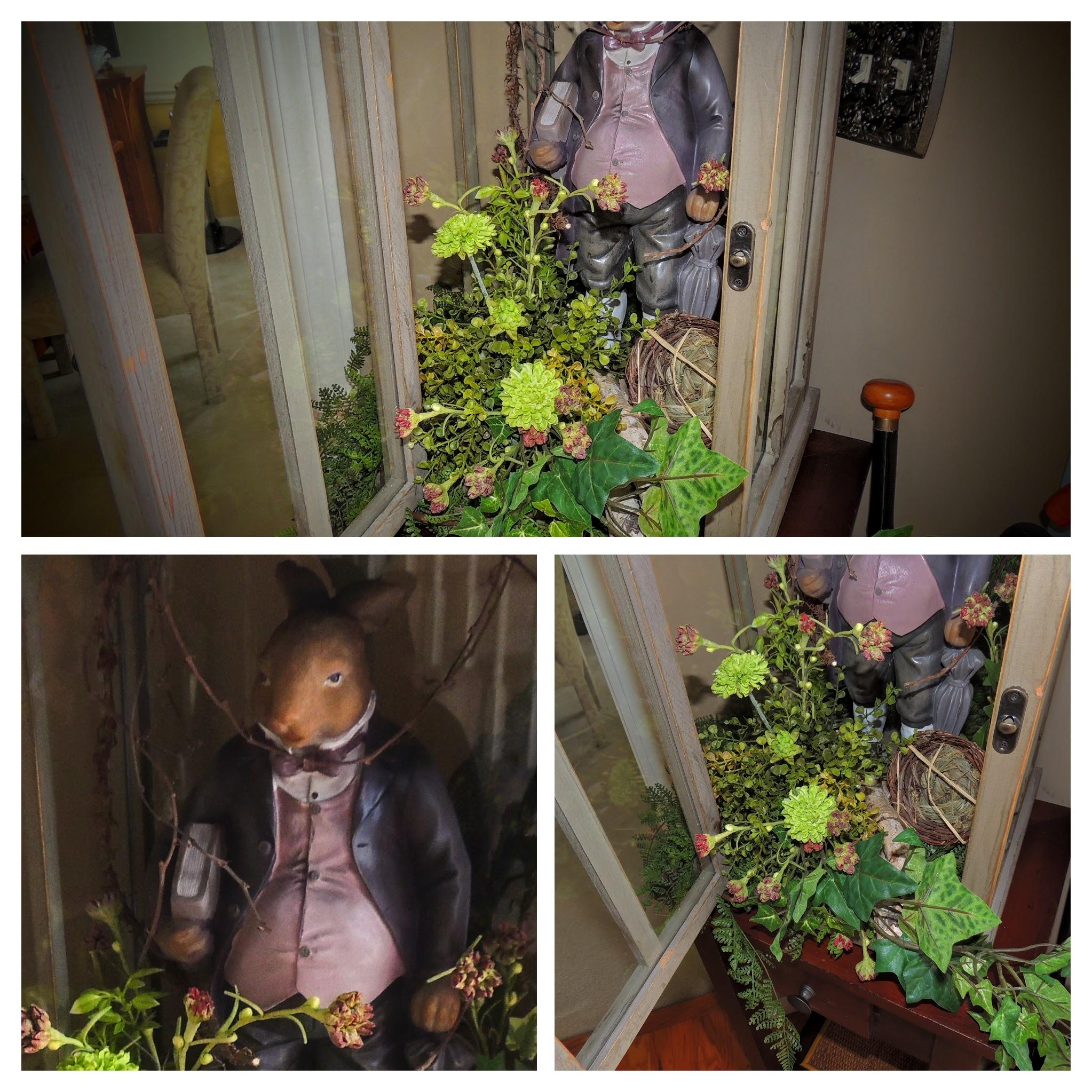 Foyer bunny collage